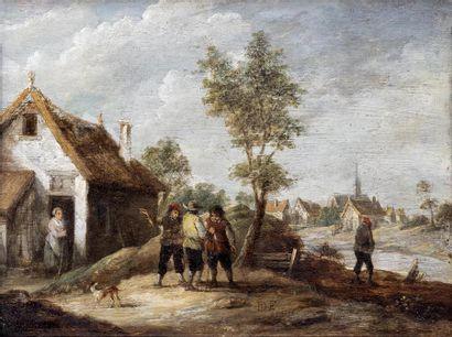 Suiveur de David TENIERS II(Anvers, 1610...