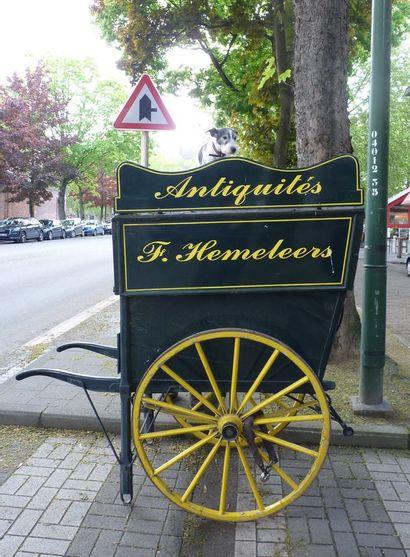 Grande charrette à pains à deux roues en...