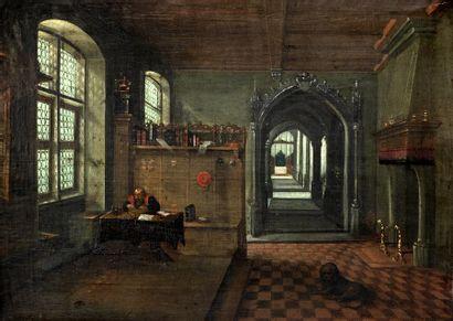 Entourage de Hendrik VAN STEENWIJK II (Anvers,...