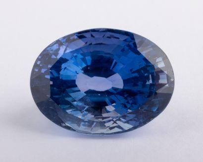 Saphir naturel changeant de couleur (Color...