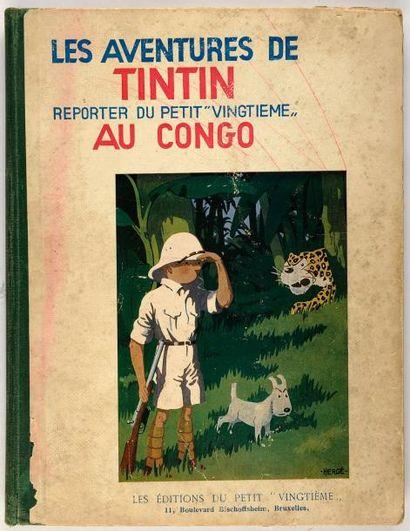 Tintin N&B - Au Congo: Edition originale...