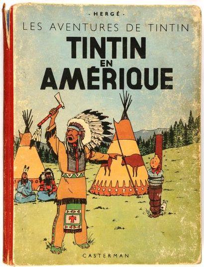 Tintin N&B - En Amérique: A18. Grande image....