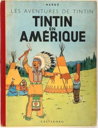 Tintin - En Amérique: Edition originale couleurs....