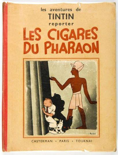 Tintin N&B - Les cigares du Pharaon: A6....