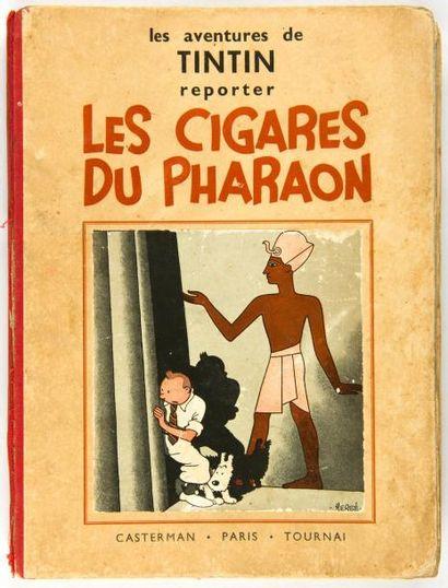Tintin N&B - Les cigares du Pharaon: A6. Etat moyen