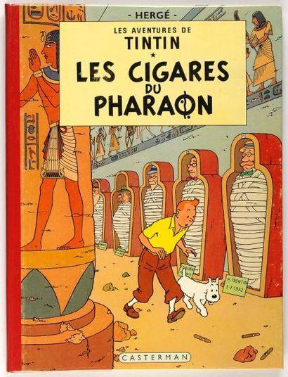 Tintin - Les cigares du pharaon: Edition...