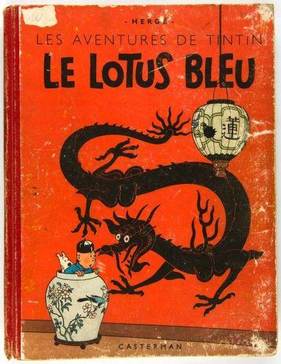 Tintin N&B - Le Lotus Bleu: A18. Grande image....