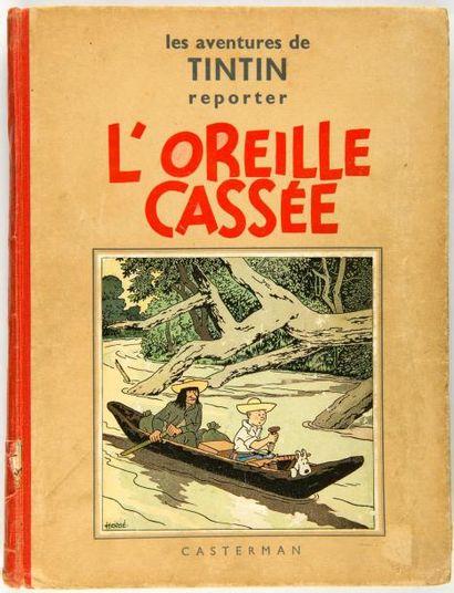 Tintin N&B - L'oreille cassée: A2. Edition...