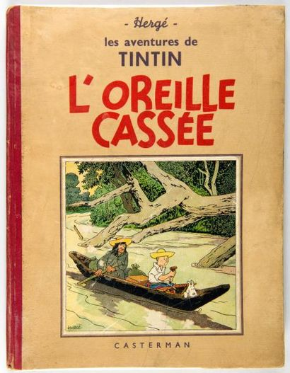 Tintin N&B - L'oreille cassée: A15. Bon ...