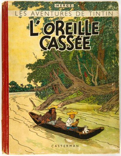 Tintin N&B - L'oreille cassée: A18. Grande...