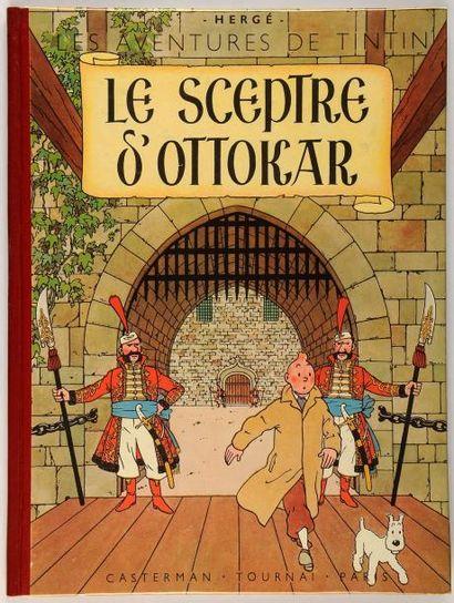 Tintin - Le sceptre d'Ottokar: Edition originale....
