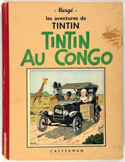 Tintin N&B - Au Congo: A14: Etat moyen
