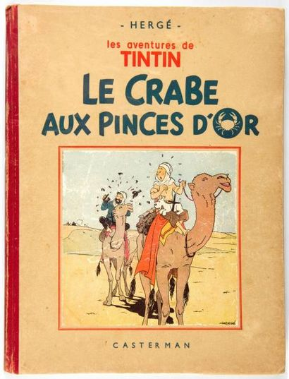 Tintin N&B - Le crabe aux pinces d'or: A13...