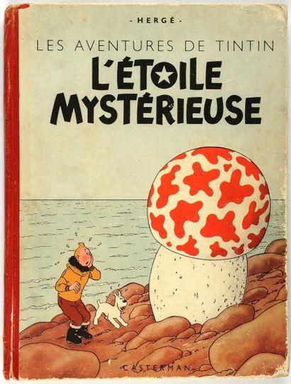 Tintin - L'étoile mystérieuse: A18, titre...