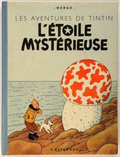 Tintin - L'étoile mystérieuse: A23, dos bleu....