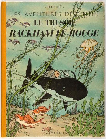 Tintin - Le trésor de Rackham Le Rouge: Edition...
