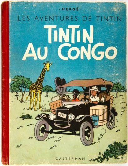 Tintin N&B - Au Congo: A18: Grande image....