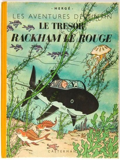Tintin - Le trésor de Rackham Le Rouge: B1,...