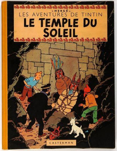 Tintin - Le temple du soleil: Edition originale....