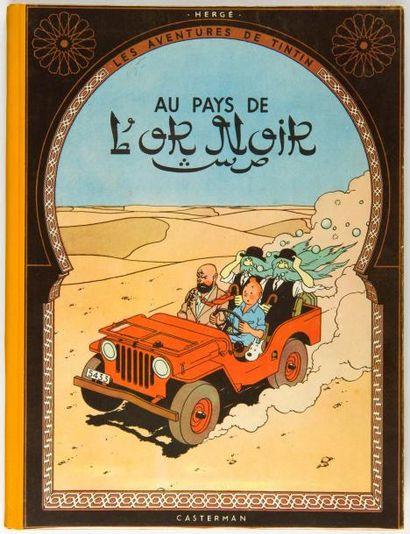 Tintin - Au pays de l'or noir: Edition originale....