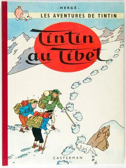 Tintin - Au Tibet: Edition originale française...