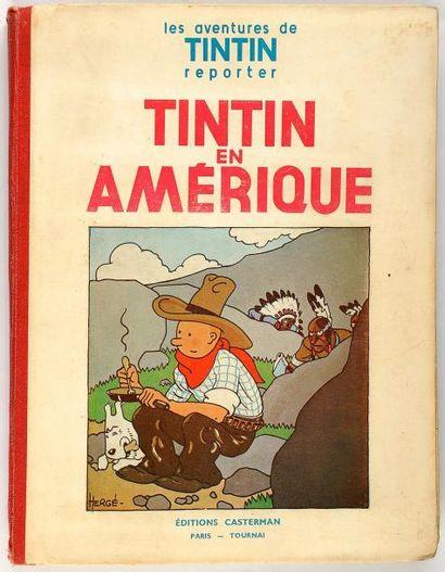 Tintin N&B - En Amérique: P6 bis: Bon ét...