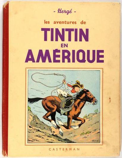 Tintin N&B - En Amérique: A14 bis. Etat ...