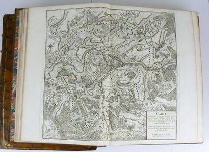 BEAURAIN (Jean de) Histoire militaire de Flandre, depuis l'année 1690 jusqu'en 1694...