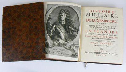 BEAURAIN (Jean de) & BOISGELIN DE CUCÉ (Louis-Bruno) Histoire militaire du Duc de...