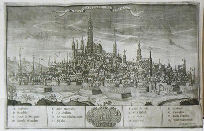 BOUSSU (J. G.) Histoire de la ville de Mons, ancienne et nouvelle; contenant tout...