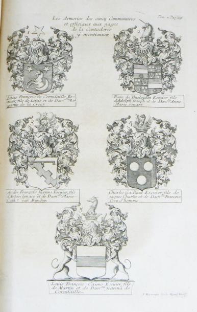 BUTKENS (Christophe) Trophées [et supplément] tant sacrés que profanes du Duché de...