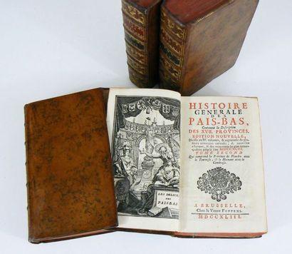 CHRYSTIN (J.-B.) & FOPPENS (P.) Histoire generale des Pais-Bas, contenant la description...