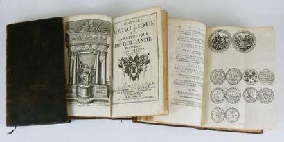Numismatique - BIZOT (Pierre). Histoire métallique de la République de Hollande....