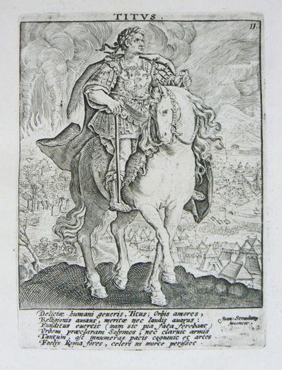 Numismatique - BIE (Jacob de). Imperatorum...