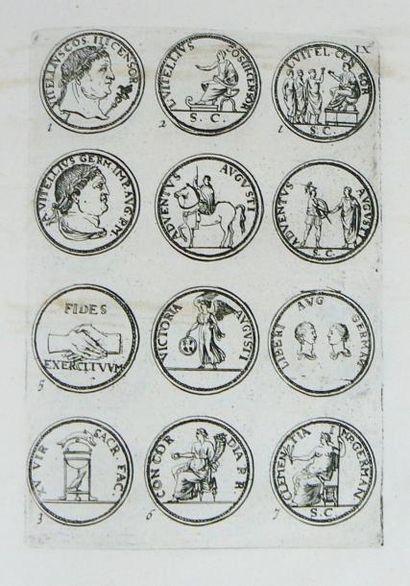 Numismatique - BIE (Jacob de). Imperatorum romanorum a Julio Caesare ad Heraclium...
