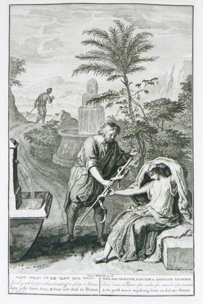 SAURIN (Jacques) Taferelen der voornaamste Geschiedenissen van het Oude en Nieuwe...