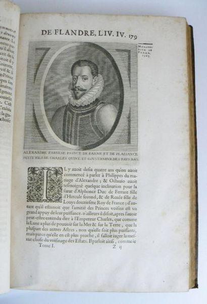 STRADA (Famiano) & DU RYER (Pierre) Histoire de la guerre de Flandre. Paris, Courbé,...