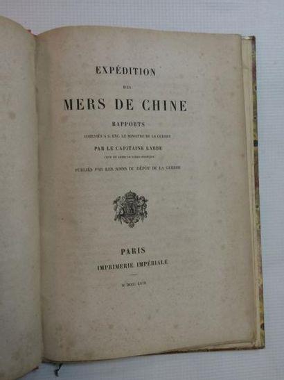 Chine & LABBÉ (Victor-Eugène-Maximilien, Capitaine)
