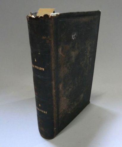 Manuscrit XIXe s. - Protestantisme. Recueil...
