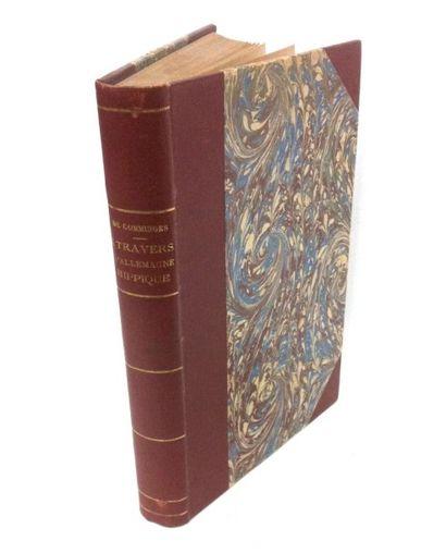 COMMINGES (Marie-Aymery, Comte de) A Travers l'Allemagne Hippique. Paris, Plon-Nourrit,...