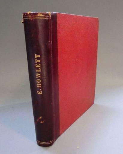HOWLETT (E.) Leçon de Guides. Paris, Pairault et Cie, 1893. In-8 carré de 159 pp....