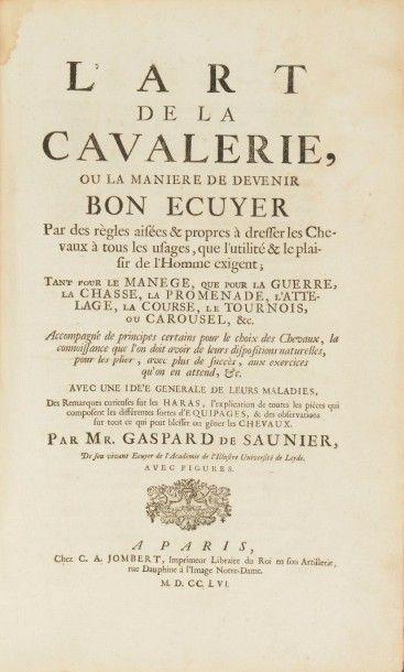 SAUNIER (Gaspard de)