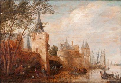 Ecole FLAMANDE du XVIIème siècle, suiveur de Pieter BOUT