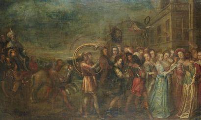 Ecole FLAMANDE du XVIIème siècle