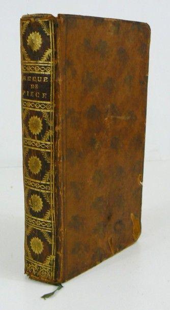 Recueil XVIIIe s.. 12 petites pièces littéraires,...