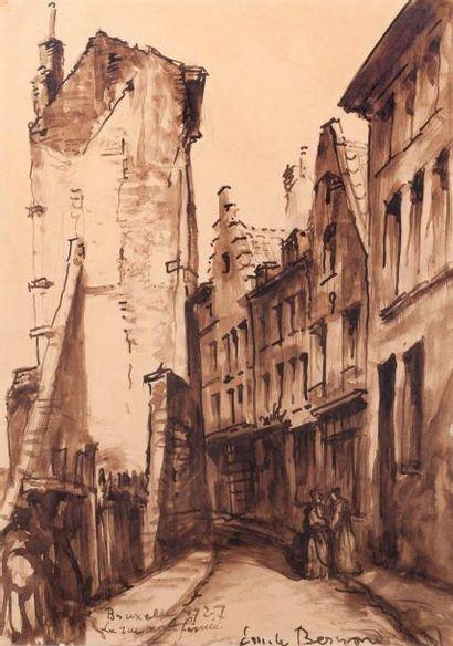 Emile BERNARD (Lille 1868 - Paris 1941)