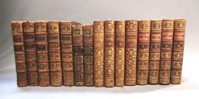 LOT. 4 ouvrages (15 volumes en tout): - LESAGE...