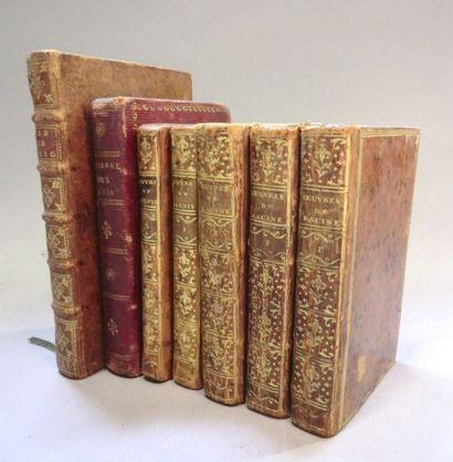 LOT. 4 ouvrages (en tout 7 VOLUMES): - BERNIS...