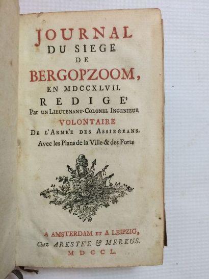 [Belgique & EGGERS (Jacob von)]