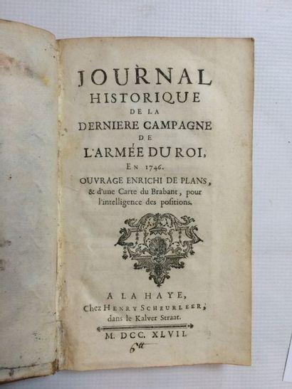 Belgique & ESPAGNAC (Jean-Baptiste Damarzit-Sahugnet, baron d')